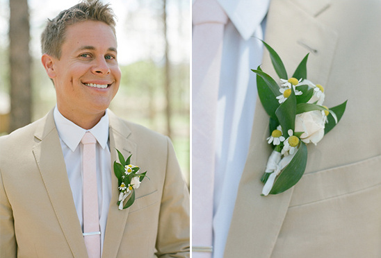 groom boutonniere by Love This Day Events