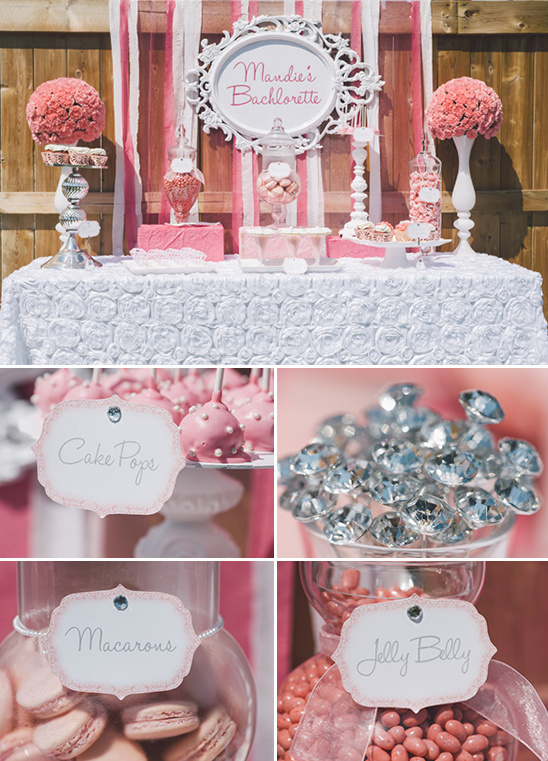 pink dessert table ideas