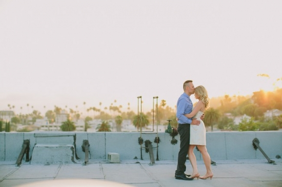 LOS ANGELES ROOFTOP ENGAGEMENT PHOTOS 46