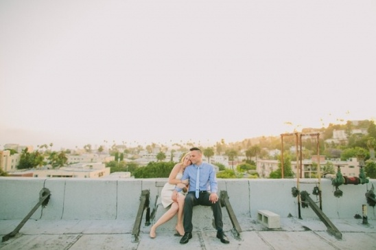 LOS ANGELES ROOFTOP ENGAGEMENT PHOTOS 52