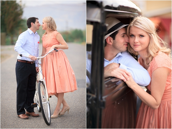 Vintage Bike and Car Colorado Orchard Engagement Session photo by www.catmayerstudio.com/weddings