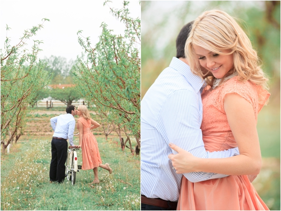 Vintage Car Orchard Engagement Session by Cat Mayer Studio