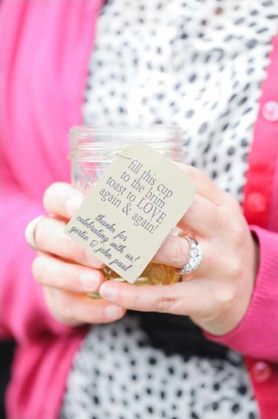 cup wedding favor