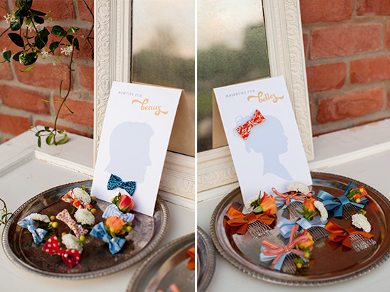 bows and beaus wedding favor ideas