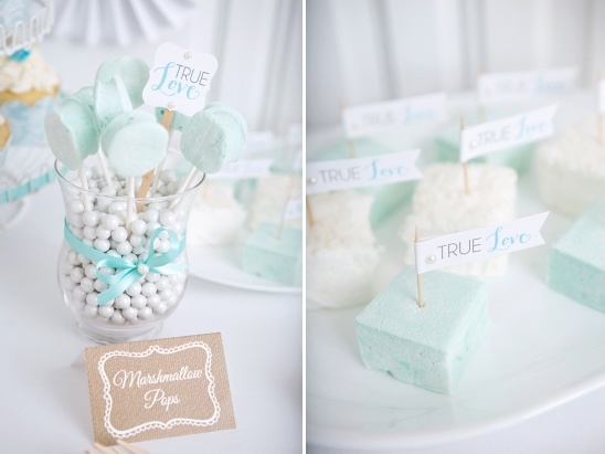 marshmellow wedding desserts by Kimberley's Kitchen