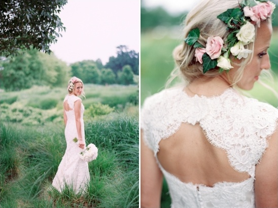 romantic bridal looks