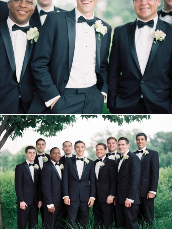 dapper looks for the groom
