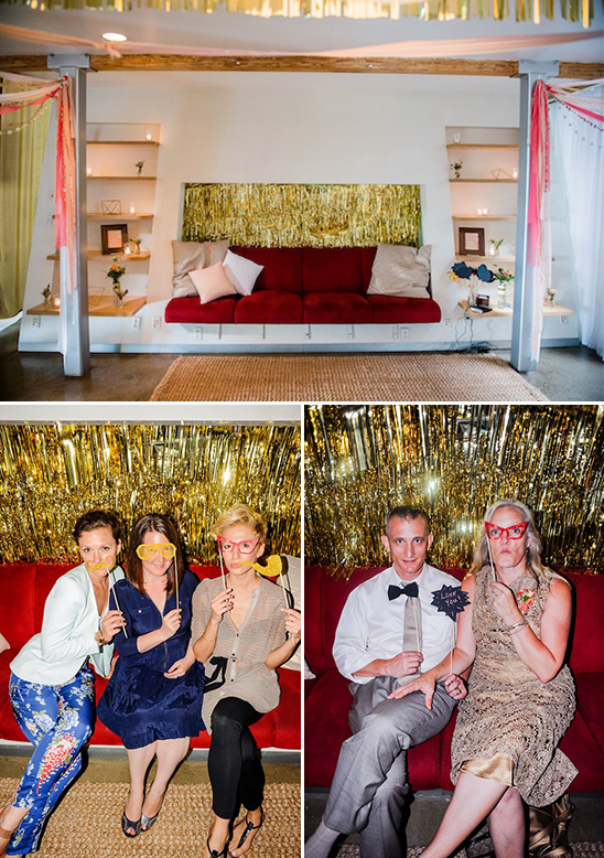 fun photobooth idea for guests