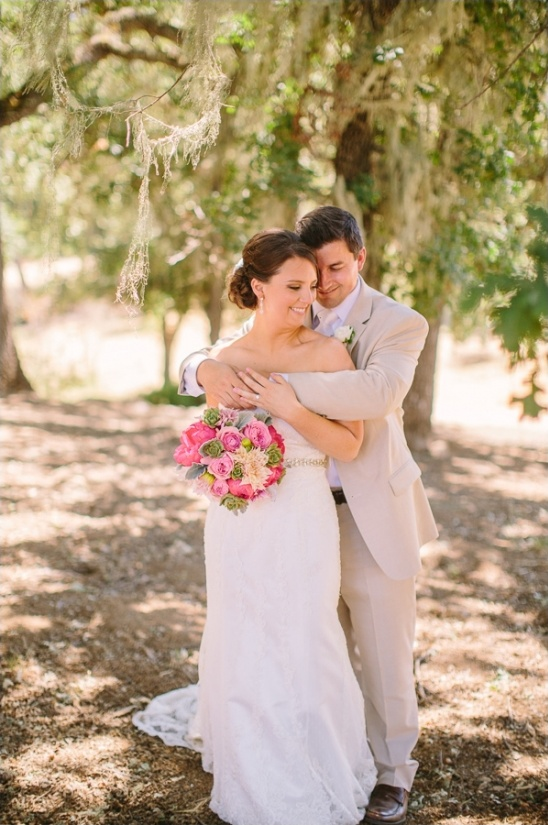 Pink And Brown Wedding At Spanish Oaks Ranch
