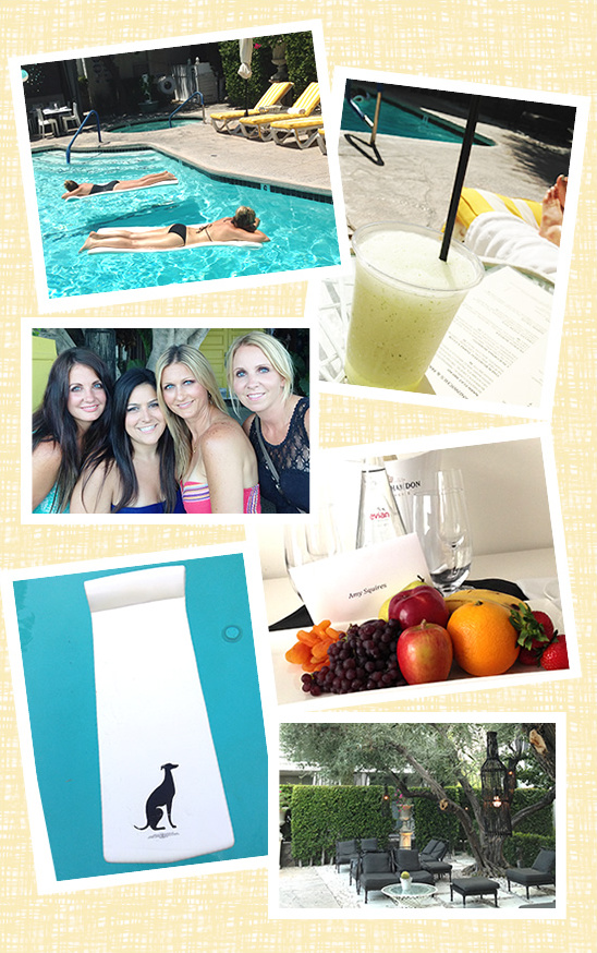 Viceroy Palm Springs Bachelorette Party