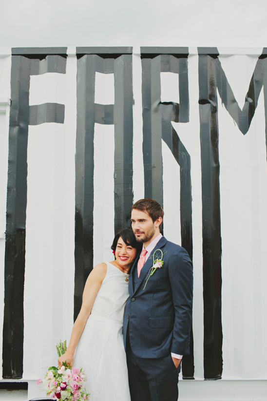 Rustic Urban Wedding Ideas At Brooklyn Grange Rooftop Farm