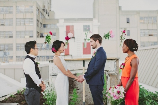 urban farm wedding ceremony ideas
