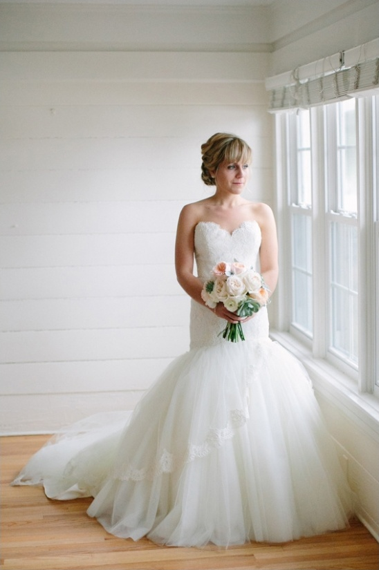 Lazaro wedding gown from The Collection Bridal