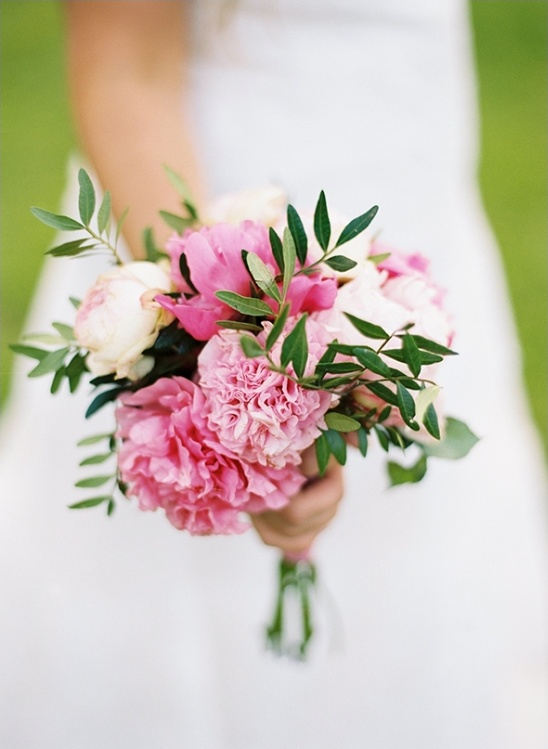 pink wedding bouquet