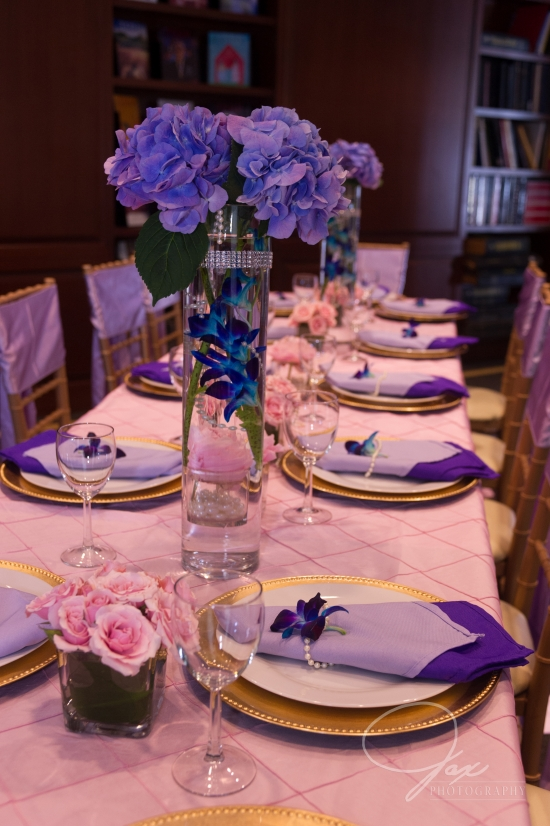 purple lavender pink wedding decor photoshoot by statuesque events
