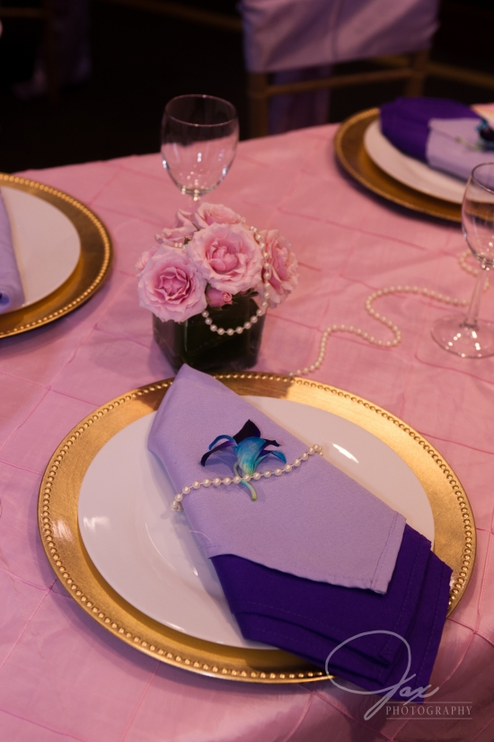 pearl wedding decor and setup by statuesque events