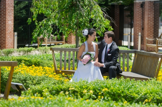 outdoor maryland wedding planning by statuesque events at samuel riggs IV alumni center washington dc