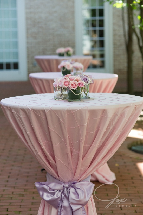 cocktail hour setup by statuesque events wedding planning and design washington dc maryland virginia