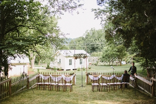rustic outdoor ceremony ideas