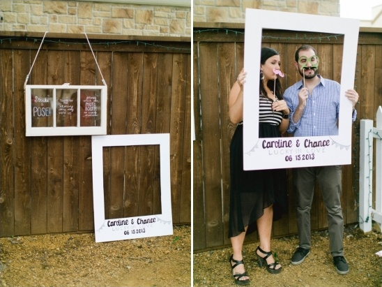 fun photo booth idea