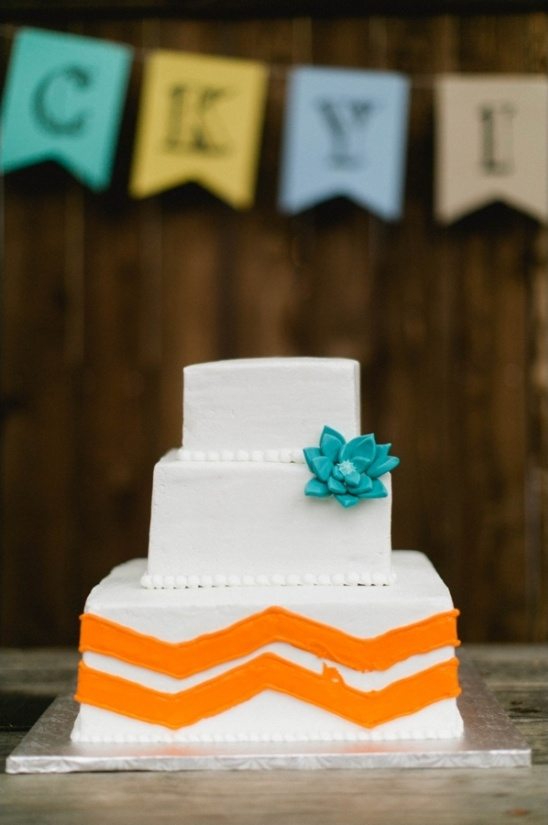 chevron wedding cake davis purity bakery