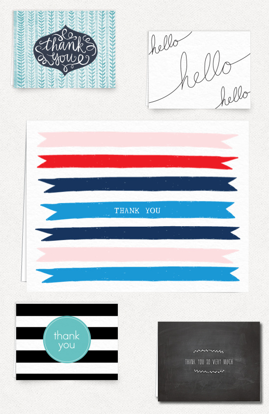 easily send thank you cards with Postable