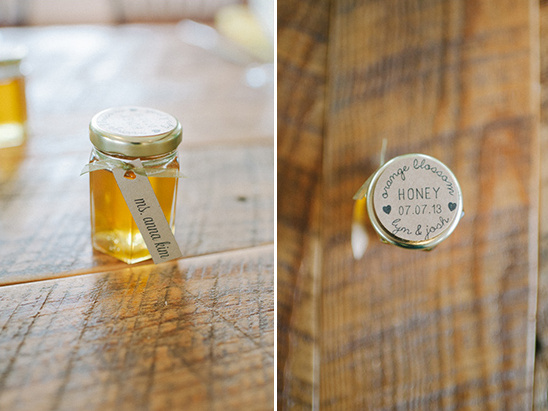 orange blossom honey favors