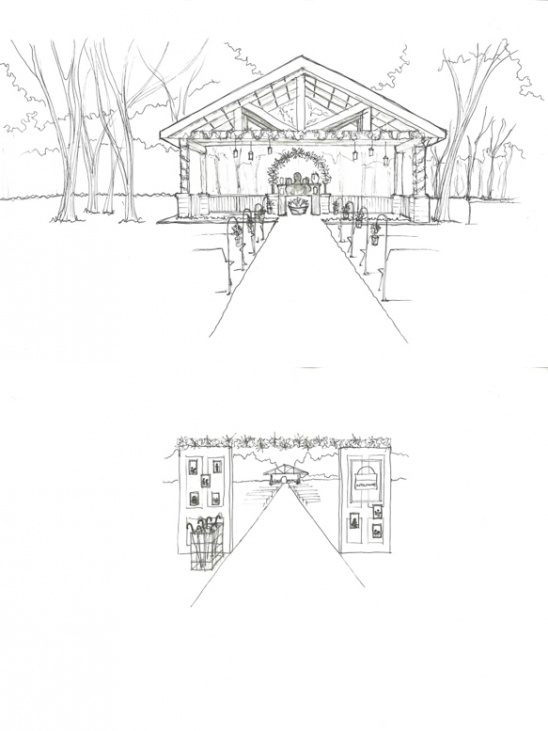 set design sketches