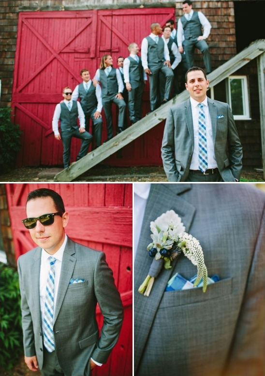 looks for the groom