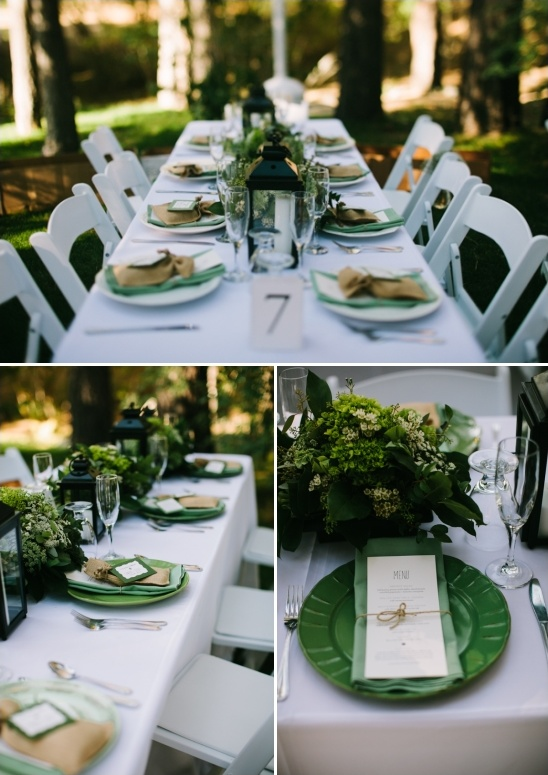 woodland tablescape ideas