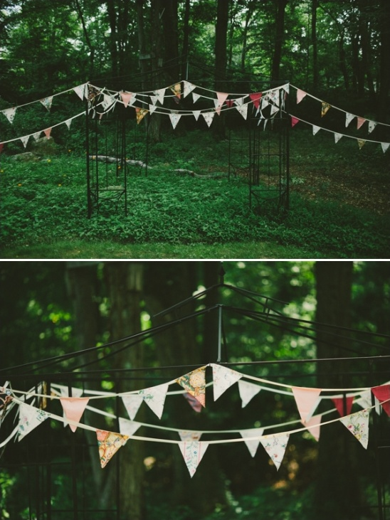 backyard wedding ceremony decorations