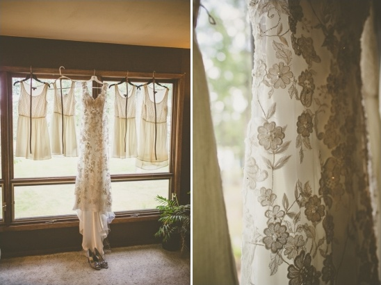 lace wedding gown by allure bridals