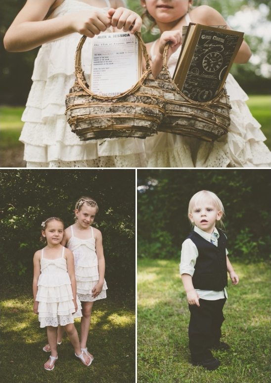 flower girl and ring bearer ideas