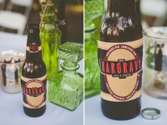 custom wedding beer labels