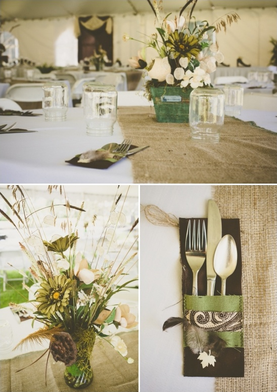 rustic vintage table decoration ideas