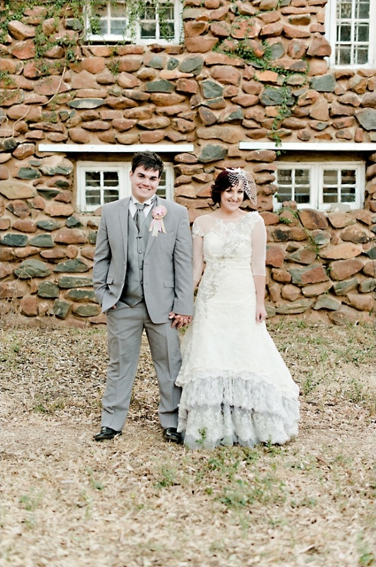 vintage looks for the bride and groom