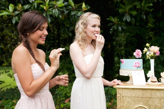 bridal shower sweets station ideas