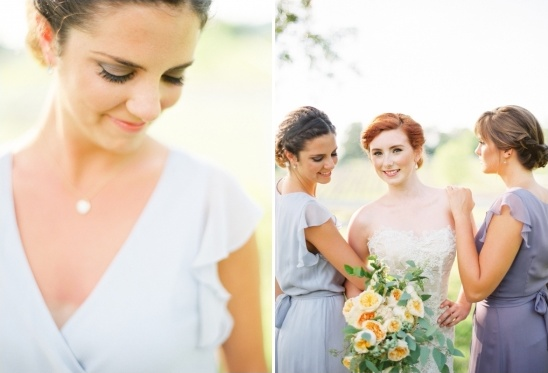 romantic bridesmaid looks