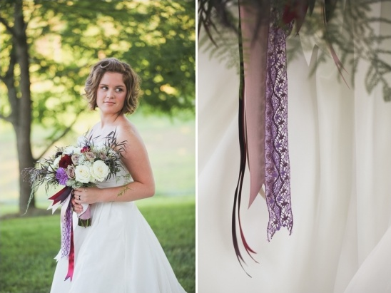 ribbon bouquet decoration ideas