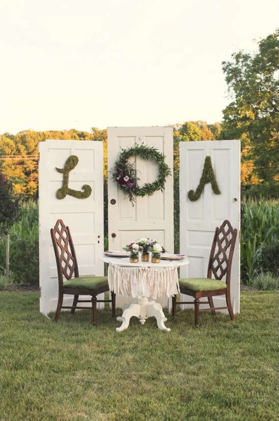 vintage sweetheart table ideas