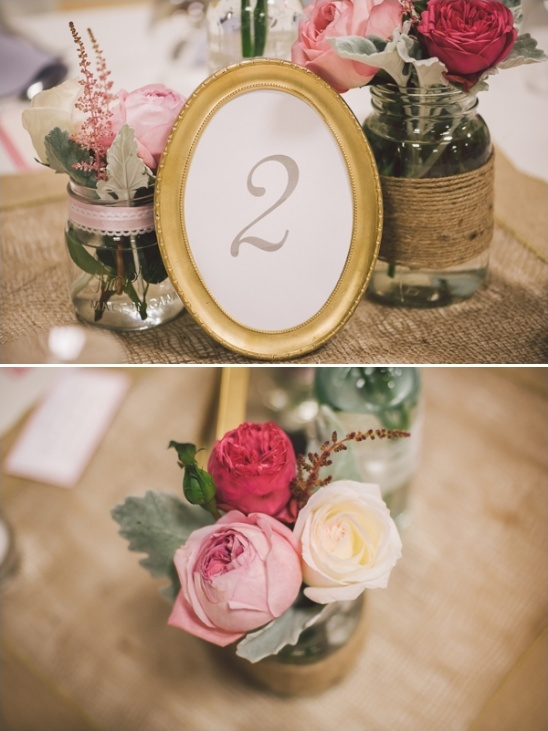 gold table frames