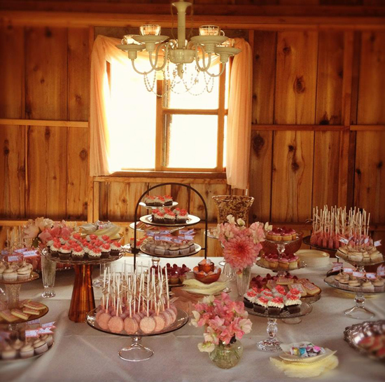 Coveted Cakery Table Display