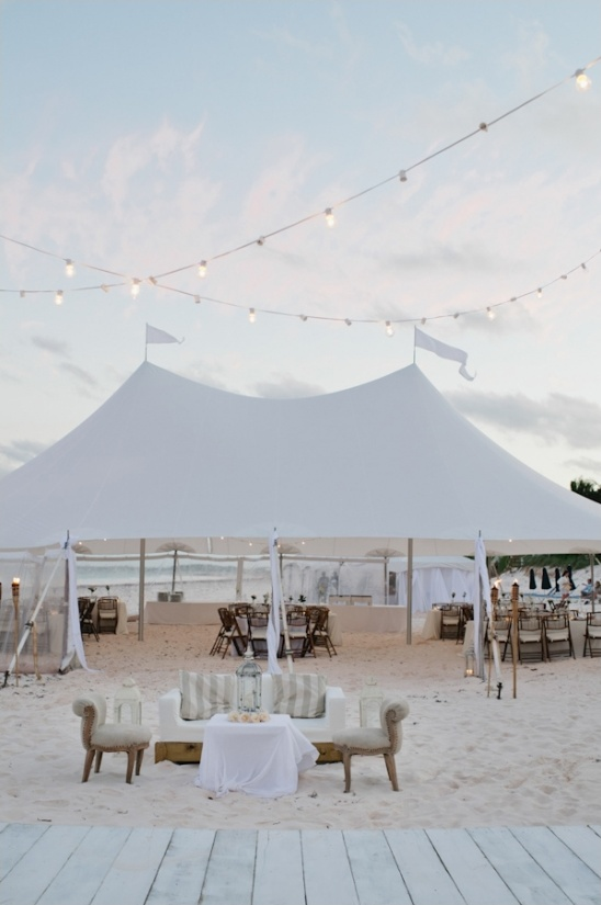 caribbean beach wedding reception at runaway hill inn
