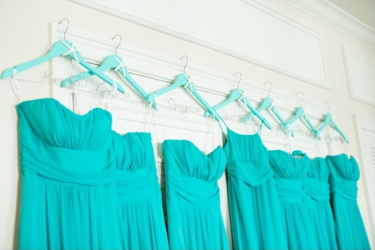 turquoise bridesmaids dress ideas