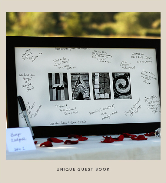 unique guest book ideas