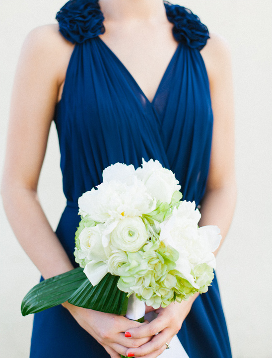 white wedding bouquet by Atmore Flower Shop