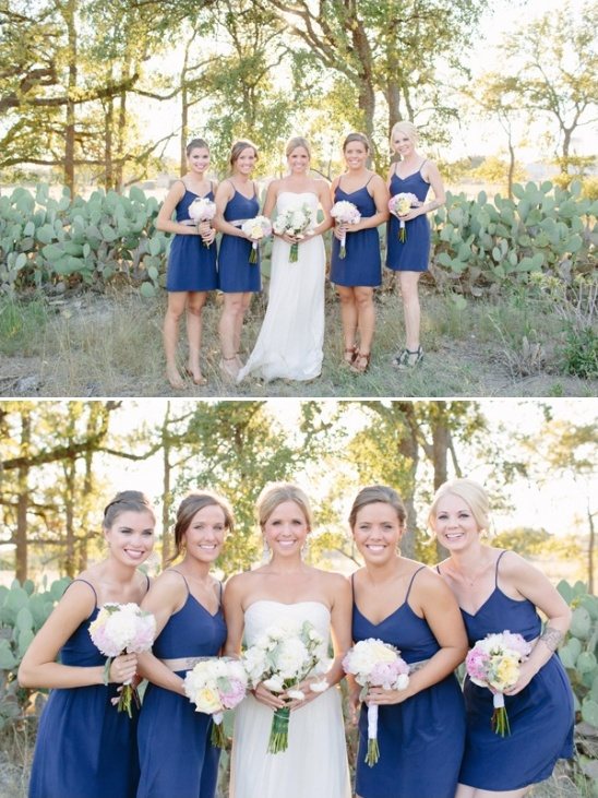 blue bridesmaid dresses from madewell
