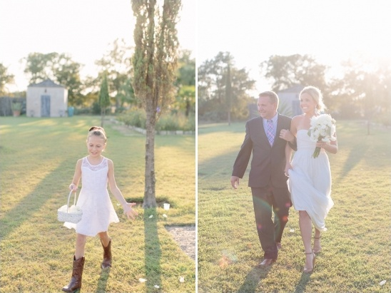 country flower girl ideas