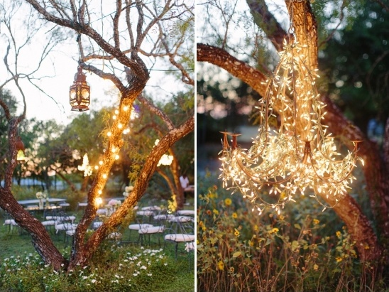 whimsical wedding lighting ideas
