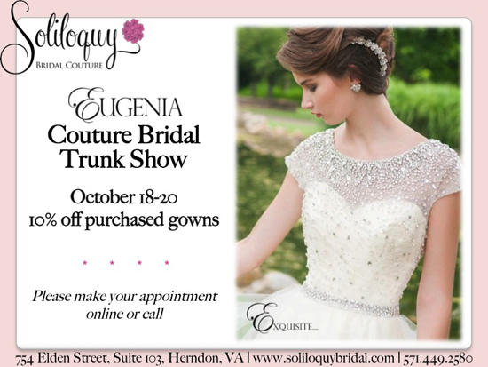 Eugenia Couture at Soliloquy Bridal